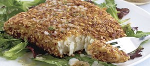 Almond-Crusted Halibut