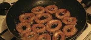 Crumbed Calamari (Squid) Rings
