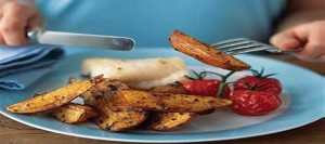 Spicy Wedges with Roast Haddock