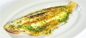 Whole Grilled Dover Sole