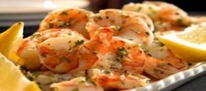 Lemon-Garlic Marinated Shrimp