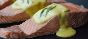 Poached Salmon with No-Fail Hollandaise