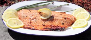Brown Sugar and Soy Salmon