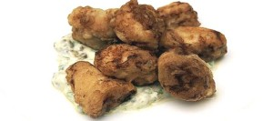 Deep-Fried Skate Knobs with Caper Mayonnaise