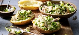 Mackerel, Pea & Pesto Jackets