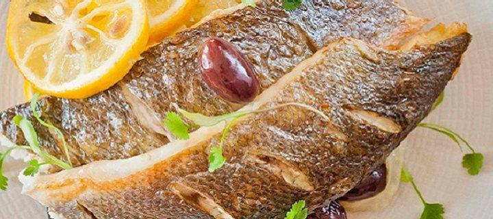 Sea Bass Lemon Fennel Olives