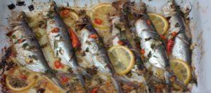 Oven Roasted Sardines