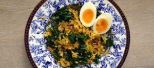 Smoked Mackerel and Brown Rice Kedgeree